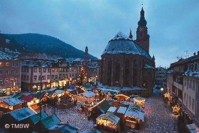 Heidelberg Weihnachtsmarkt.Weihnachtsmarkt Heidelberg Weihnachtsmarkt