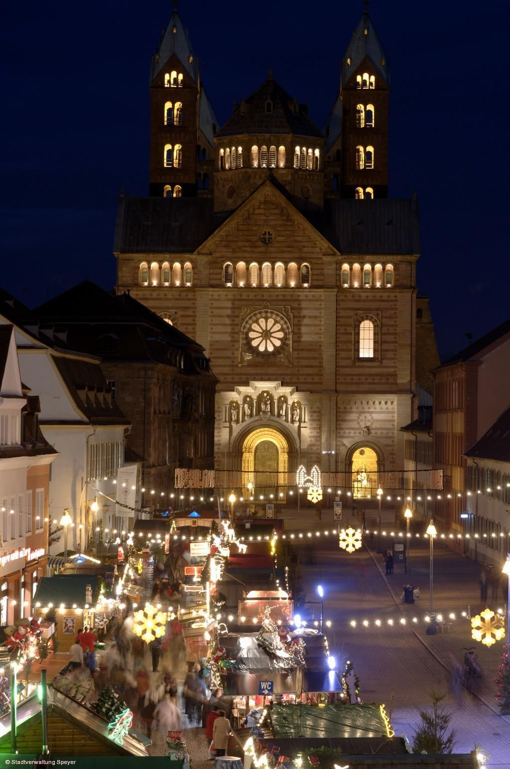 Weihnachten 2019 In Deutschland.Weihnachts Und Neujahrsmarkt Speyer Am 25 11 2019 Bis 06 01 2020