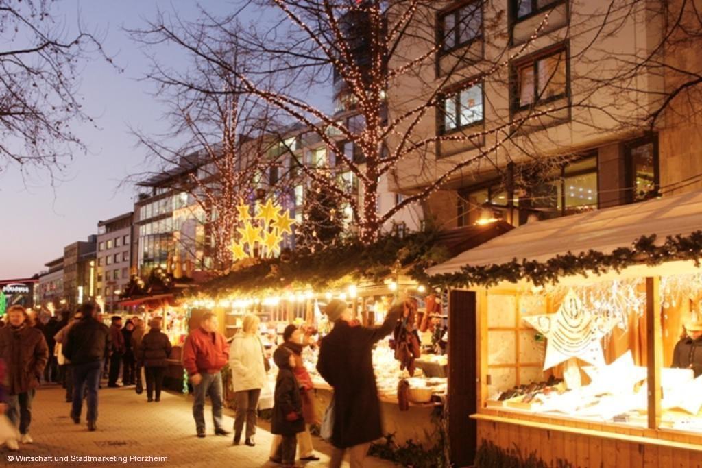 Pforzheimer Weihnachtsmarkt.Weihnachtsmarkt Pforzheim Weihnachtsmarkt
