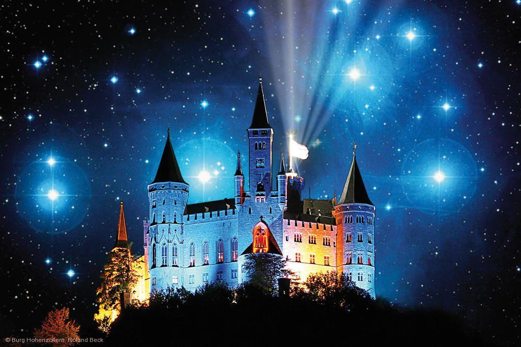 Sternschnuppennachte Burg Hohenzollern Am 09 08 2019 Bis 10 08 2019