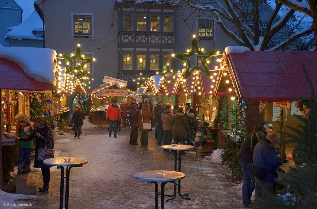 Standgebühr Weihnachtsmarkt Stuttgart.Weihnachtsmarkt Leutkirch Im Allgäu Am 28 11 2019 Bis 01 12 2019