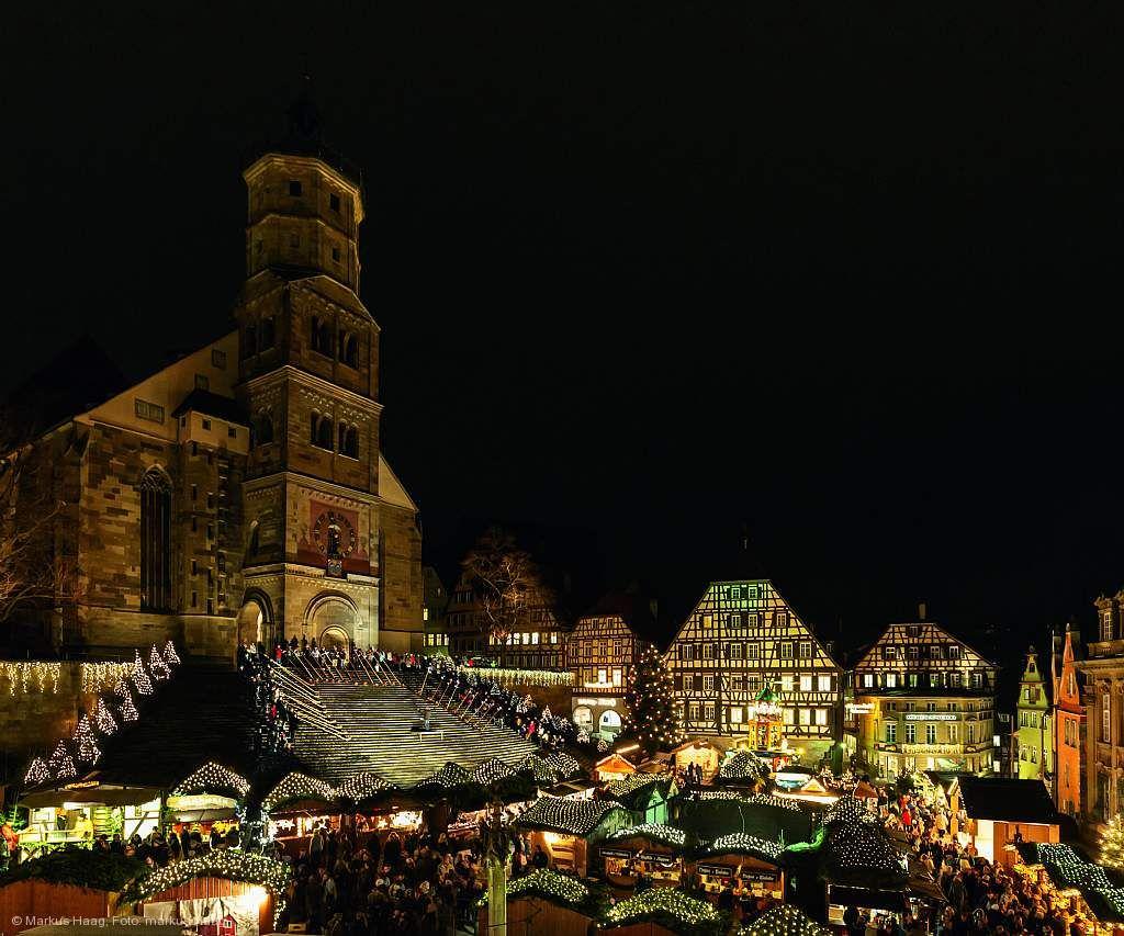 Schwäbisch Gmünd Weihnachtsmarkt.Weihnachtszauber Schwäbisch Hall Am 28 11 2019 Bis 22 12 2019