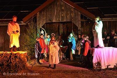 11. St. Blasier Waldweihnacht Sankt Blasien