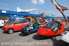 Treffen von Fahrzeugen mit alternativem Antrieb Sinsheim am 28.04.2018
