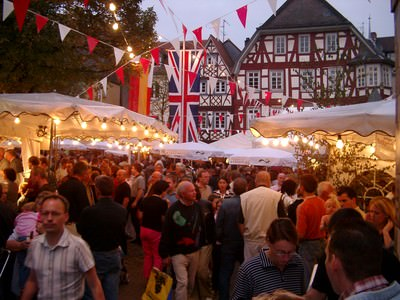 Bergsträßer Winzerfest Bensheim an der Bergstraße