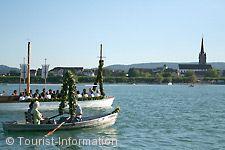 Traditionelles Hausherrenfest mit Mooser Wasserprozession Radolfzell am Bodensee am 13.07.2018 bis 16.07.2018