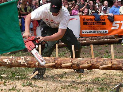 38. Internationale Schwarzwälder Holzfällermeisterschaften Schuttertal