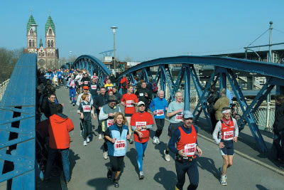 Mein Freiburg Marathon Freiburg im Breisgau am 07.04.2019