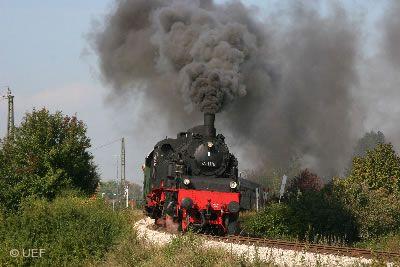 UEF Lokalbahn - Nikolaus-Dampfzugfahrt Amstetten