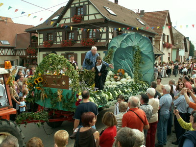 Fête de la choucroute - Sauerkrautfest Krautergersheim