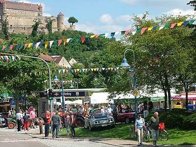 Straßenfest unterm Stettenfels Untergruppenbach