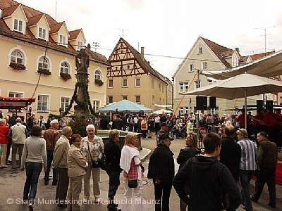 Traditionelles Brunnenfest Munderkingen