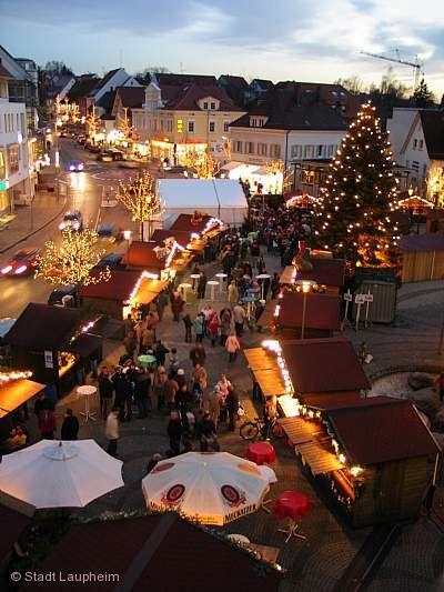 Weihnachtsmarkt Laupheim