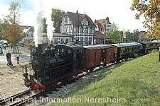 Nikolausfahrt mit der Härtsfeld-Museumsbahn Neresheim am 10.12.2017