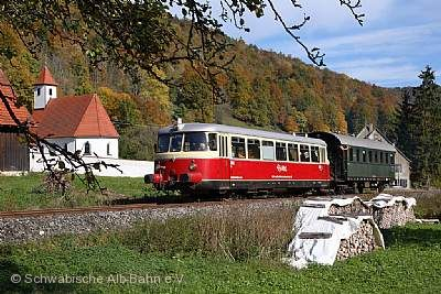 Schwäbische Alb-Bahn Schelklingen