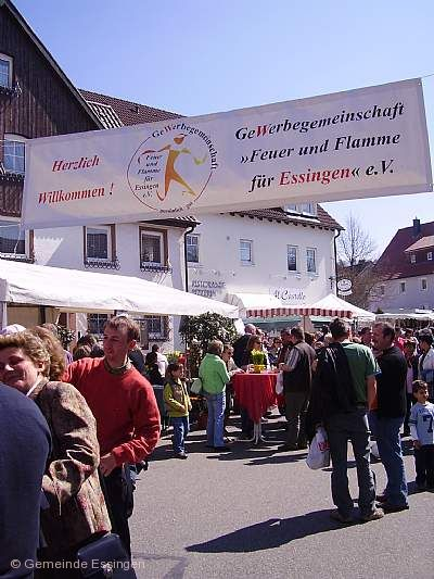 Traditioneller Ostermarkt Essingen am 02.04.2018