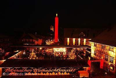 Weihnachtsmarkt Biberach.
