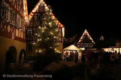 Rotenberger Weihnachtsmarkt Rauenberg