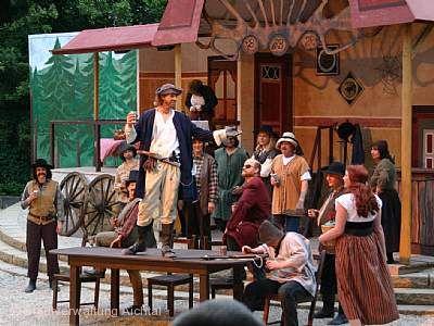 """Naturtheater Grötzingen - """"Cyrano de Bergerac"""" Aichtal"""
