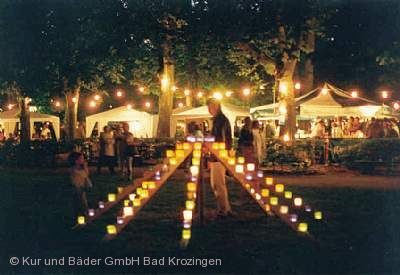 Open Air im Park - Großes Lichterfest Bad Krozingen