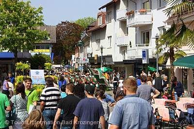 Bad Krozingen im Frühling