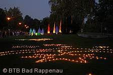Lichterfest im Kurpark Bad Rappenau
