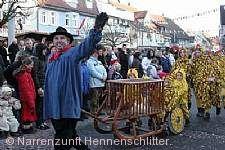 Umzug und Narrenbaumsetzen Immenstaad am Bodensee am 14.01.2017
