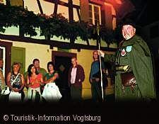 Burkheimer Nachtwächterrundgang Vogtsburg im Kaiserstuhl