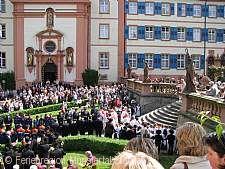 Trudpertsfest mit Prozession Münstertal/Schwarzwald