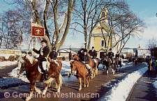 Traditioneller Silvesterritt Westhausen