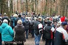 Christbaumsingen Schönbrunn