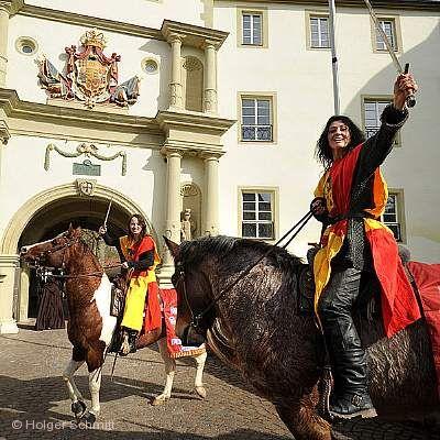 Traditioneller Pferdemarkt Bad Mergentheim