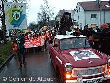 Faschingsumzug Altbach am 14.01.2017