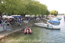 Grenzüberschreitender Flohmarkt Konstanz