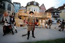 """Freilicht in der Maille - """"Hamlet - Prinz von Württemberg"""" (Uraufführung) Esslingen am Neckar"""