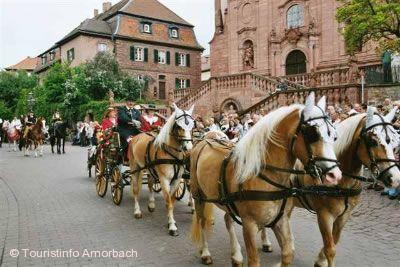 Gangolfsritt Amorbach am 10.05.2020