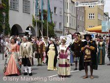 Isnyer Kinder- und Heimatfest Isny im Allgäu