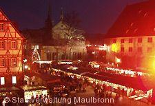 Weihnachtsmarkt Maulbronn am 09.12.2017 bis 10.12.2017