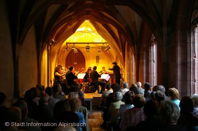 "1. Kreuzgangkonzert - ""Bach und Söhne"" Alpirsbach"