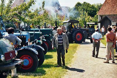 Oldtimer-Schleppertreffen Bad Schussenried am 10.05.2020