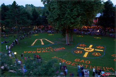 Großes Kurparkfest mit Illumination Bad Mergentheim