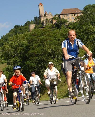 """""""Lebendiger Neckar und AOK-Radsonntag"""" Heidelberg"""