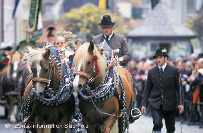 Leonhardifahrt Bad Tölz am 06.11.2020