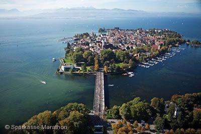 Sparkasse-Marathon der drei Länder am Bodensee Lindau im Bodensee