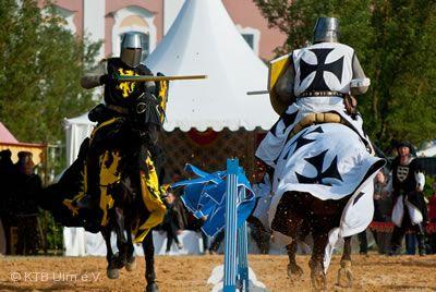 Großer Mittelalter Markt mit Ritterturnier zu Ulm Ulm/Neu-Ulm