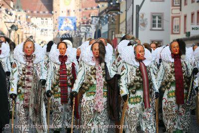 Historischer Umzug der Narrozunft Villingen 1584 Villingen-Schwenningen