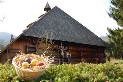 Ostern im Vogtsbauernhof Gutach (Schwarzwaldbahn)