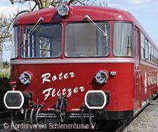 """Mit dem Schienenbus """"Roter Flitzer"""" auf der Schwarzwaldbahn nach Gutach Bietigheim-Bissingen"""