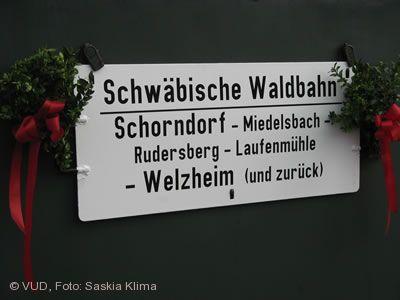 Schwäbische Waldbahn Schorndorf