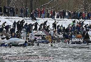 48. Donauschwimmen Neuburg / Donau am 27.01.2018